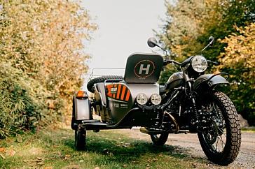 Урал представил новый мотоцикл с беспилотником - «Ural Air»