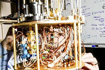 Машинное обучение реализовано на квантовых компьютерах